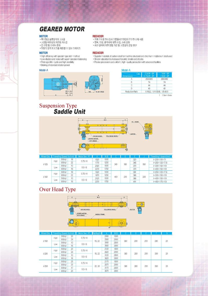 Thiết Bị Cầu Trục MTT Hàn Quốc PALANG XÍCH ĐIỆN - ELECTRIC CHAIN HOIST