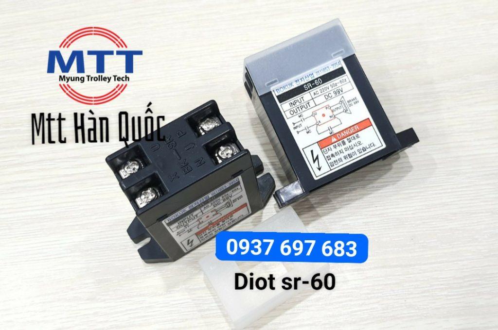 Bộ chỉnh lưu diot sr-60 bokuk chính hãng giá tốt