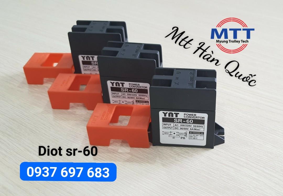 Thiết Bị Cầu Trục MTT Hàn Quốc Diot sr 60 yat cầu trục