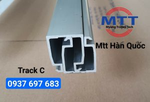Máng C cho cầu trục 40x50 hãng Myunghin